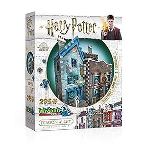 Wrebbit Puzzles- Ollivanders & Scribbulus 3D Puzzle, Colore Vario, Standard, W3D-0508 0665541005084 LEGO
