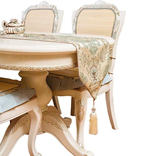 Aoligei tischläufer, Europäische Moderne Einfache Tischdecke TV-Schrank rechteckige Gabe Esszimmer, Wohnzimme,Küche, Garten-Partyund für Alle Anderen Feierlichkeiten -