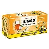 Goldmännchen Jumbo Tee Orange, Orangentee, Früchtetee, 20 Teebeutel, Große Beutel, 3124