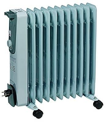 Einhell Ölradiator MR 1125/2 (2500 Watt, 3 Heizstufen, Thermostat, 4 Lenkrollen, praktische Kabelaufwicklung, integrierter Griff) von Einhell auf Heizstrahler Onlineshop