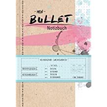 Mein Bullet Notizbuch - Watercolor pink (monbijou)