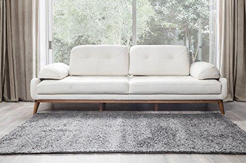 Perla Möbel Bereich, Teppich, Polypropylen, antarsite, 3'x 8' - 8' Creme Bereich Teppich
