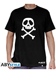 AbyStyle - T-Shirt - Albator - Emblème Taille XL - 3700789201359