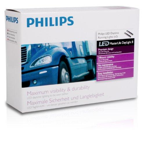 Preisvergleich Produktbild Philips 24824WLEDX1 LED Tagfahrlicht MasterLife Daylight8 für LKW/Nutzfahrzeuge