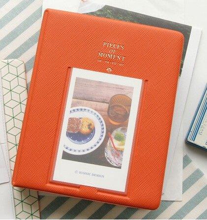 64-pockets-mini-album-case-storage-for-polaroid-photo-fujifilm-instax-film-size-orange