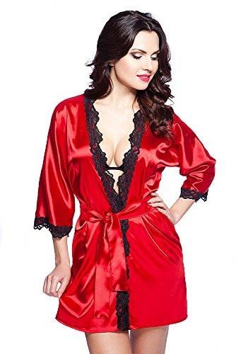 VA-Fashion - Vestaglia -  donna VA36/rot