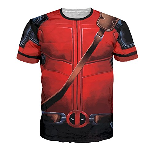 Shonentee T-Shirt Herren - Deadpool Armour Tee
