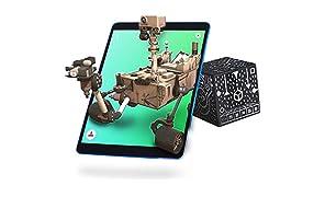MERGE Cube (Edición de la UE): Mantenga un Holograma, Funciona con Gafas VR/AR e Incluye Juegos y Aplicaciones de AR gratuitos en los Idiomas Locales. Compatible con iOS y Android