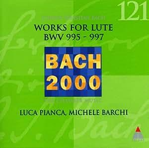 Lute Works 1 (BWV 995-997)