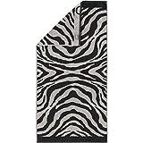 Cawö Duschtuch Instinct Zebra 562 anthrazit - 97 - 80