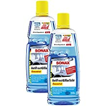 2x Sonax 03323000anticongelante (& Transparente concentrado 1L