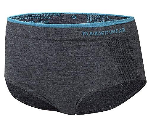 Runderwear Women's Merino Briefs | Chafe-Free, Premium Merino Wool Performance Running Underwear
