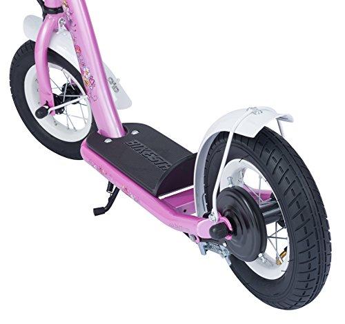 bikestar roller kinderroller tretroller kickscooter mit luftreifen f r m dchen ab 4 5 jahre. Black Bedroom Furniture Sets. Home Design Ideas