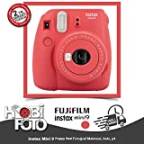 FUJiFiLM iNSTAX MiNi 9 FOTOĞRAF MAKİNESİ (POPPY RED)