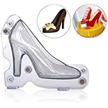 Itian Molde, diseño de zapato 3D, zapato de tacón Chocolate molde Candy Cake Jelly