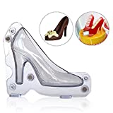 Itian Schokolade High Heels DIY High Heel Schuh Schimmel Süßigkeiten Kuchen Backen Schokoladenform Dekoration