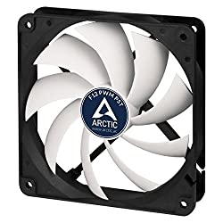 Arctic F12 Pwm Pst - 120 Mm Pwm Pst Case Fan | Silent Cooler With Standard Case | Pst-port (Pwm Sharing Technology) | Regulates Rpm In Sync