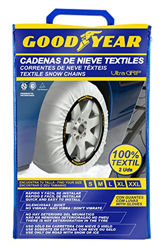 Goodyear GOD8015 Cadenas Ultra Grip, Set de 2