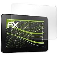 atFoliX Protección de Pantalla para Amazn Kindl F¡re HD 8,9 Lámina protectora Espejo - FX-Mirror Protector Película con efecto espejo