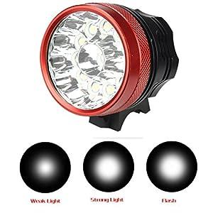 Rawdah 30000LM 12 x CREE XM-L T6 LED Bicicleta luz de bicicleta luz impermeable