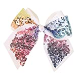 JasmineLi Glittering Paillette Bowknot Hair Clips Best Headband Onaments for Women Girls Kids