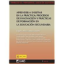 Aprender a enseñar en la práctica:procesos de innovación y prácticas de formación en la educación se (FORMACION PROFESORADO-E.SECUN.)