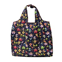 LA HAUTE Reusable Shopping Bags Waterproof Foldable Grocery Bags
