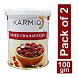 Best Dried Cranberries - Karmiq Dried Cranberries 100g - Pack of 2 Review