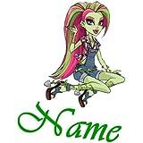 Bügelbild Monster High plus 1 kleines Gratis Bild zum Üben; für helle Textilien