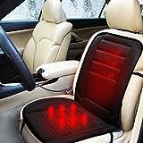 Beheizbare Auto-Sitzauflage, 12 V, sicheres Heizkissen, 1 Stück