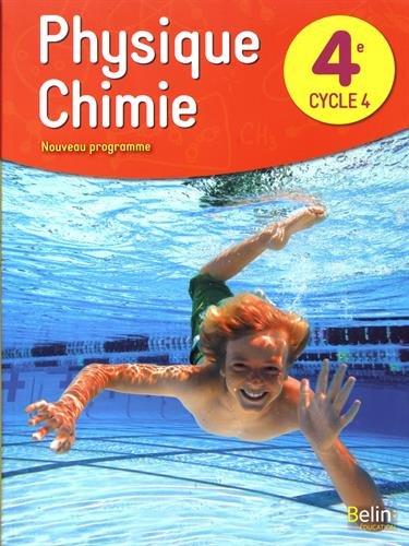 Physique chimie 4me livre de l'lve