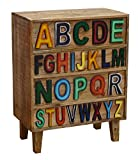 The Wood Times 15-IN4202 Kommode 'Letters', 4 Schubladen