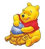 Artopweb Pannelli Decorativi Forma Disney Winnie Pooh Quadro, Legno, Multicolore, 47x1.8x59 cm