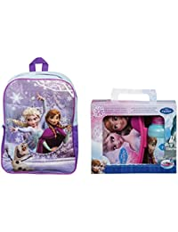Official Disney Frozen Large Backpack & Lunch Box Set **NEW**