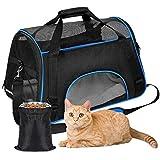 YOUTHINK Transporttasche für Haustiere Faltbar Hundedecke wasserdichte Airline-zugelassene Tragbare Outdoo Reisetaschen, Oxford Gewebe Größe 19.5x11.5x11.5 Inches für Katzen Hunde