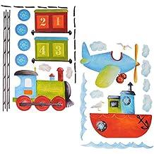 suchergebnis auf amazon.de für: flugzeug wandtattoo - Kinderzimmer Flugzeug