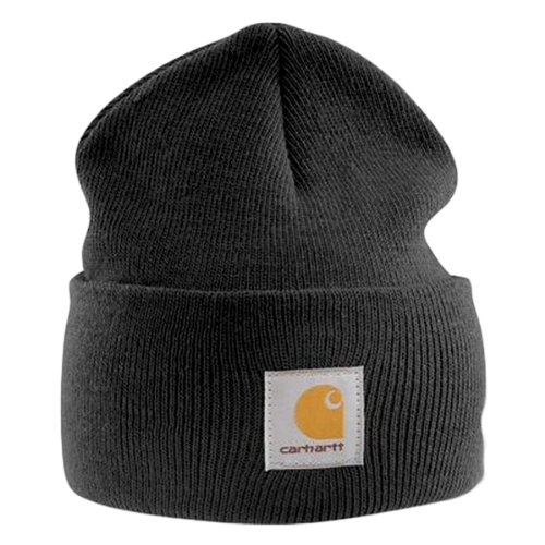 Carhartt - Acrylic Watch Cap - Black-Universal (Watch Cap Black)