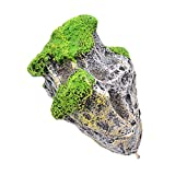 Sharplace Aquarium schwimmender Stein Felsen Floating Rock mit Saugnapf Dekoration - S