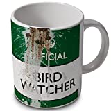 verytea Bird Watcher - Official (with bird poop) - funny mug cup.