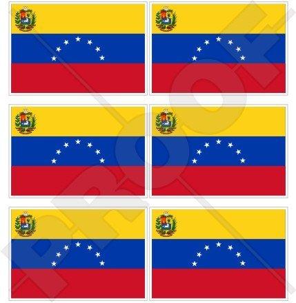Venezuela EX stato bandiera (7Star) Venezuelano. sud America 40mm (40,6cm) telefono cellulare mini adesivi in vinile, decalcomanie X6