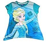 Disney Mädchen Frozen Eisprinzessin Elsa Zipfel-Shirt Gr. 104,110,116,128 Größe 128