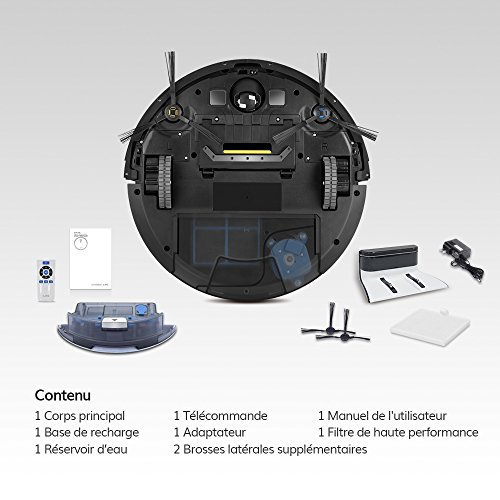 iLife Staubsauger-Roboter V8s, geplante Reinigung, moderne Technologie zur Reinigung von Haustierhaaren, ohne Verheddern - 7