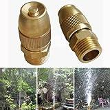 #5: Copper Adjustable Automatic Water Spray Nozzle