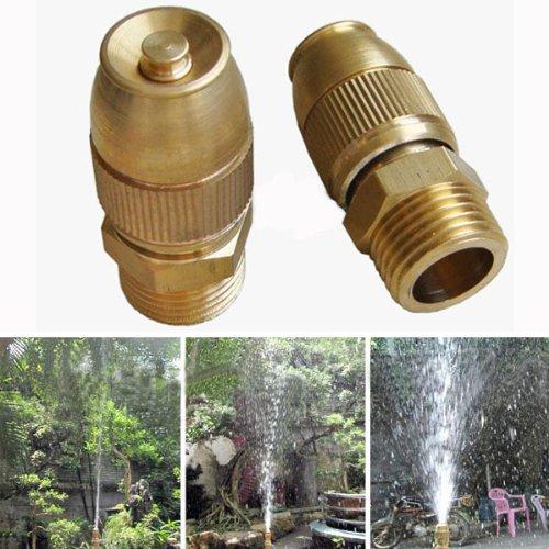 MaMaison007 Ugello di spruzzo di rame dell'acqua automatico regolabile
