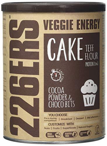 226ERS Evo Veggie Cake - Preparado para Pasteles Energéticos Veganos Rico en Proteína con Harina de Teff