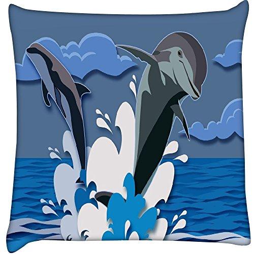 Dolphin 2473Home Decor Werfen Sofa Auto Kissenbezug Kissen Fall 25,4x 25,4cm