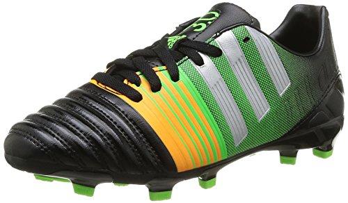 adidas Nitrocharge 3.0 Fg J, Chaussures de football garçon CNoir/Silvmt/Sogold