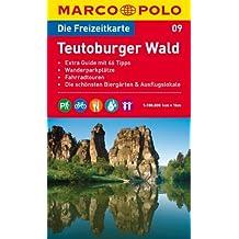 MARCO POLO Freizeitkarte Teutoburger Wald 1:100.000