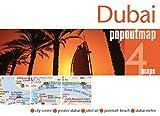 Dubai PopOut Map (Popout Map) (PopOut Maps)