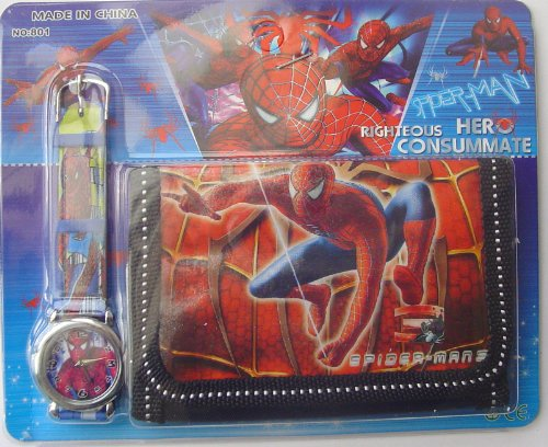 Image of SPIDER-MAN Watch and Wallet Set